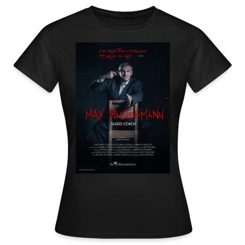 Filmplakat Girl - Frauen T-Shirt