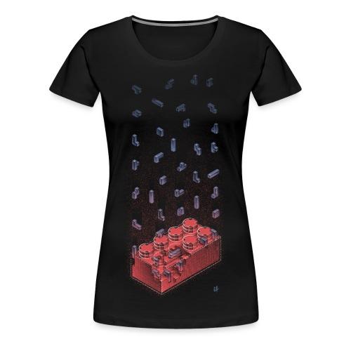 Brick Ception - Women's Premium T-Shirt