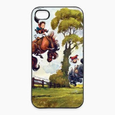 PonyRodeo Thelwell Cartoon  Phone & Tablet Cases