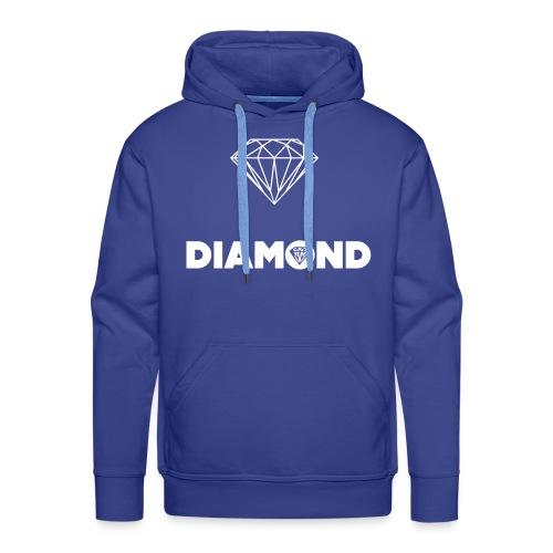 Diamond Front - Men's Premium Hoodie