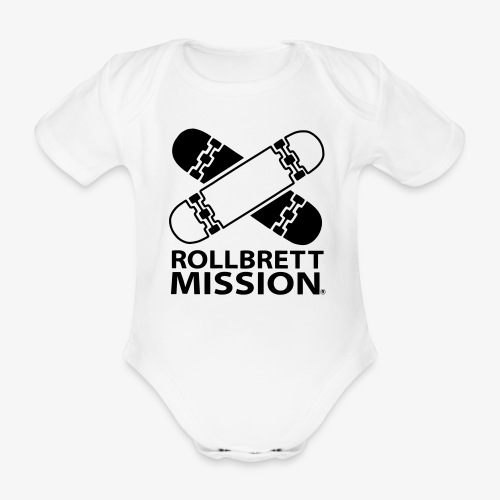 Rabäääh! - Baby Bio-Kurzarm-Body