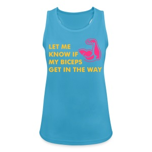 LET ME KNOW - Funktions-Tank Tops - Frauen Tank Top atmungsaktiv