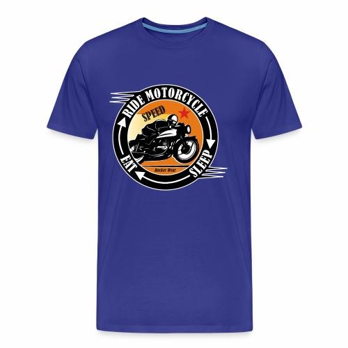 Ride Motorcycle - Sleep - Eat - Men's Premium T-Shirt