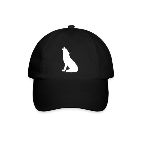 Heulender Wolf - Baseballkappe