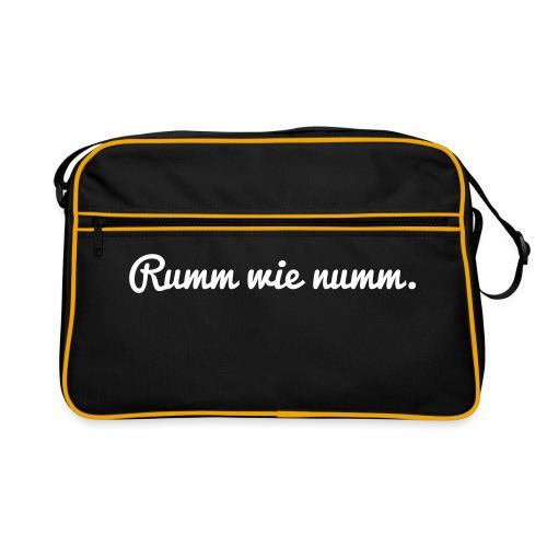 Rumm wie... (Bag) - Retro Tasche
