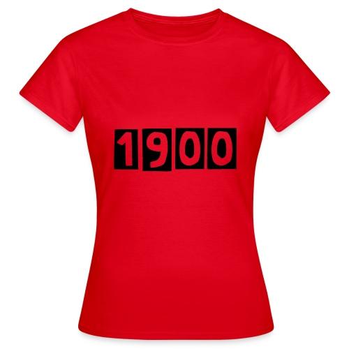 1900 - Druck Vorne - Frauen T-Shirt
