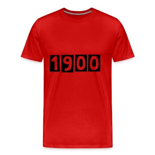 1900 - Druck Vorne - Männer Premium T-Shirt