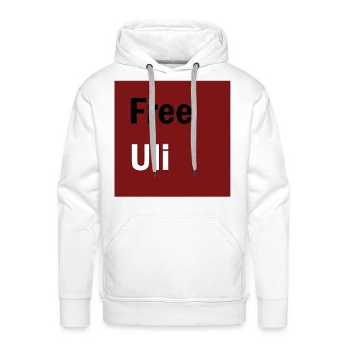 Free Uli - Druck Vorne - Männer Premium Hoodie