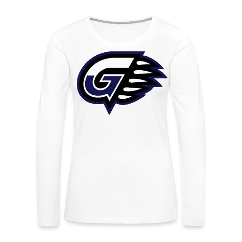 T-SHIRT LONG GIRL G'S - T-shirt manches longues Premium Femme