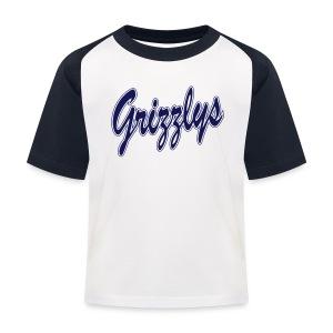 T-SHIRT KID BASEBALL LETTER - T-shirt baseball Enfant