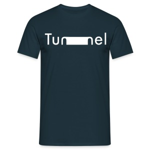 Tunnel Motto Graffiti T-Shirt Logo - Männer T-Shirt