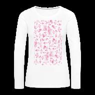 Langarmshirts ~ Frauen Premium Langarmshirt ~ Artikelnummer 100658160