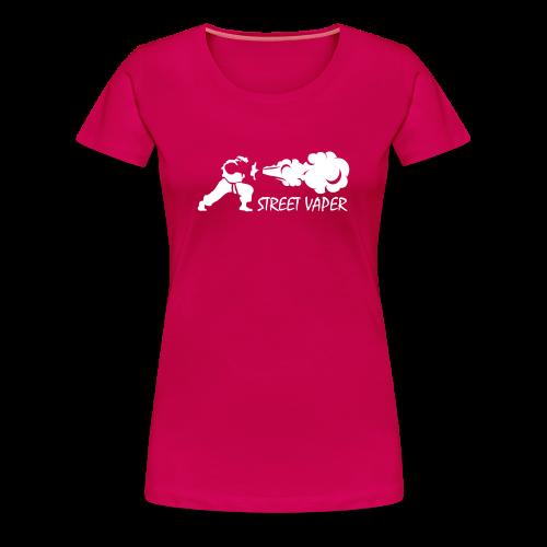STREET VAPER - T-shirt Premium Femme