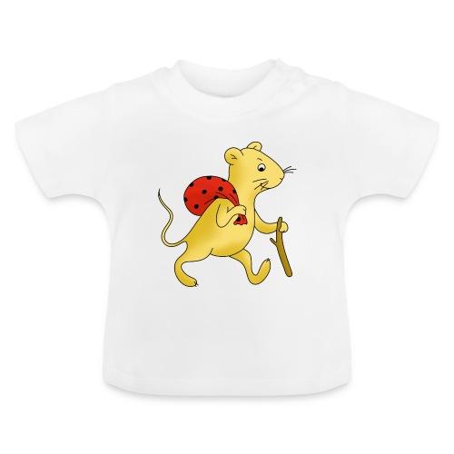 Baby T-Shirt mit der Wandermaus - Baby T-Shirt
