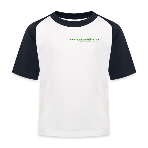 agrarmodellbau.de T-Shirt 2 Kinder - Kinder Baseball T-Shirt