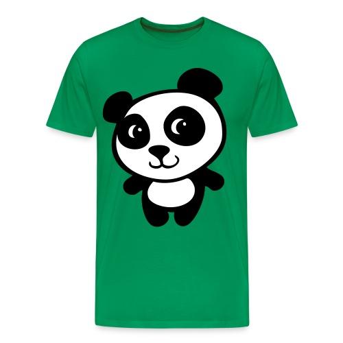 panda t-shirt - Premium-T-shirt herr
