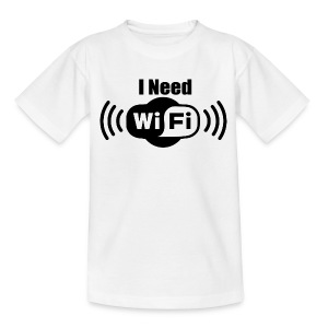 Young T: I Need WiFi  DD - Kinder T-Shirt
