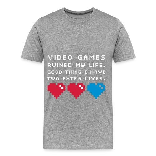 t-shirt ''jeux video'' - T-shirt Premium Homme
