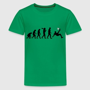 Evolution Fussball T-Shirts - Teenager Premium T-Shirt