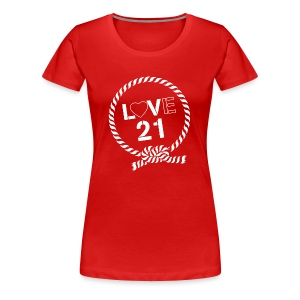 LoVe21-WOMENS-TSHIRT PREMIUM - Women's Premium T-Shirt