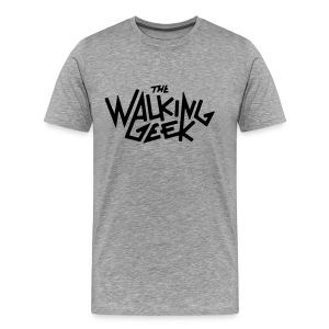 The Walking Geek T Shirt  - Männer Premium T-Shirt