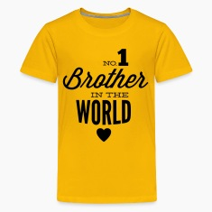 no1 brother of the world Shirts