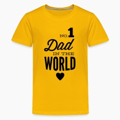 no1 dad of the world Shirts