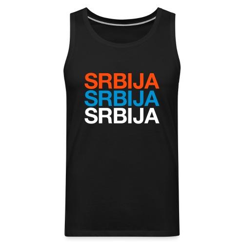 Srbija Shirt - Männer Premium Tank Top