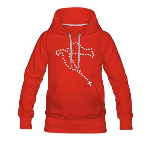 Hrvatska Hoodie Lady - Frauen Premium Hoodie
