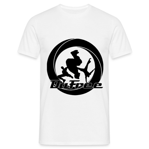 White T-shirt with logo - Men's T-Shirt