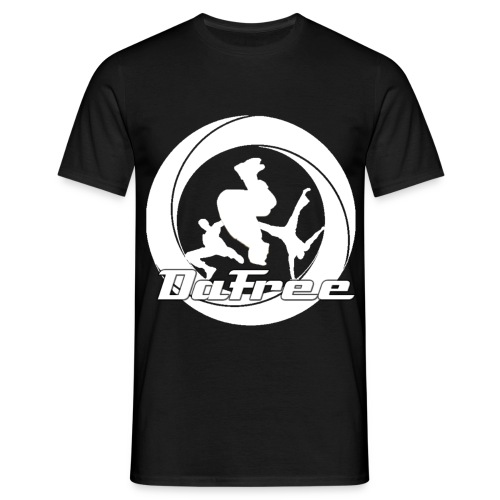 Black T-Shirt with logo - Men's T-Shirt