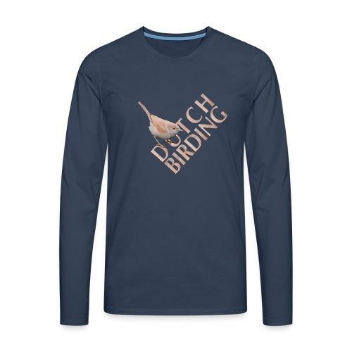 AWG Man shirt met lange mouwen - Mannen Premium shirt met lange mouwen