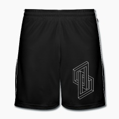Optical Illusion - Impossible figure - Geometry Trousers & Shorts