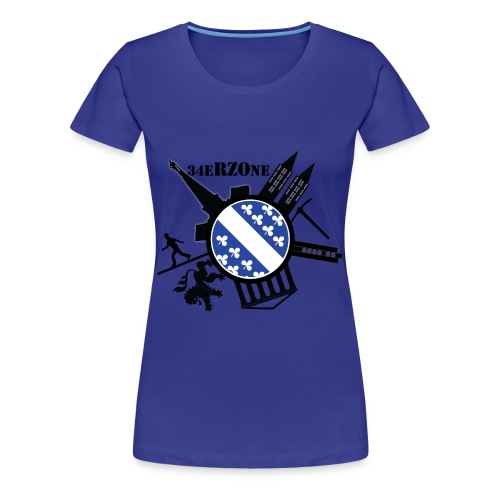 Kassel City Damen Shirt - Frauen Premium T-Shirt