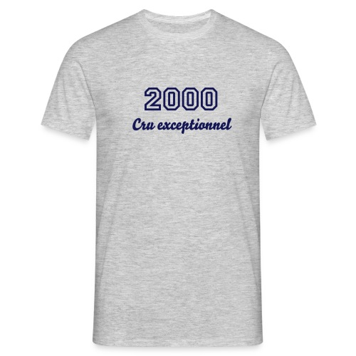 Tee-shirt 2000, cru exceptionnel - T-shirt Homme