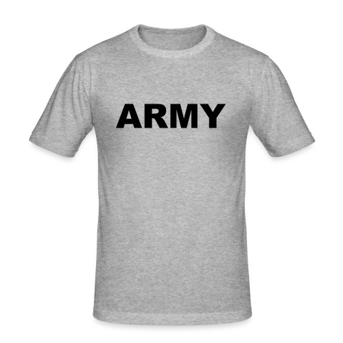 ARMY - Männer Slim Fit T-Shirt