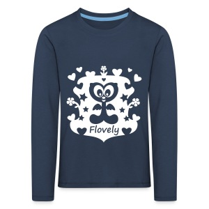 Flovely World - Kinder Premium Langarmshirt