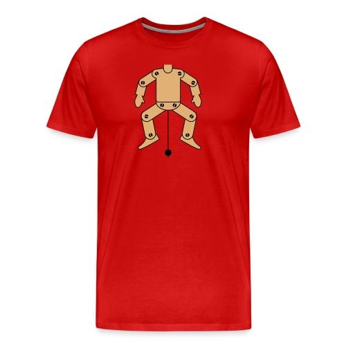 Trekpop - Mannen Premium T-shirt
