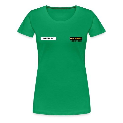 In the Army, now - Vrouwen Premium T-shirt
