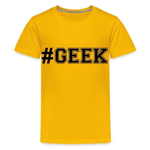 t-shirt du geek - T-shirt Premium Ado