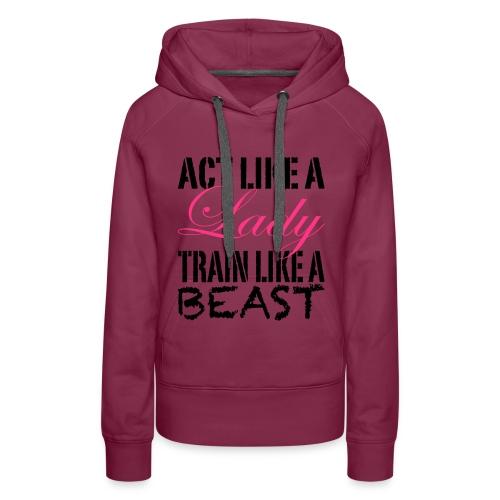 womens gym hoodies - Women's Premium Hoodie