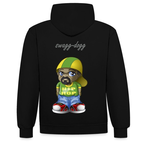 swaggsweet  - Sweat-shirt contraste