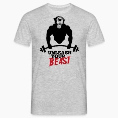 Unleash your beast bodybuilder T-Shirts
