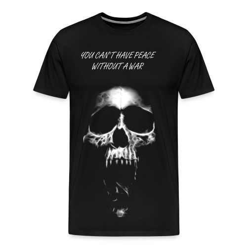 Skull of War - Männer Premium T-Shirt