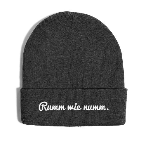 Rumm wie... (Cap) - Wintermütze