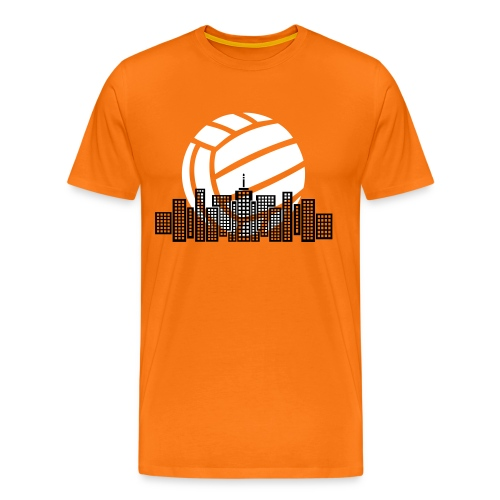 Volleyball City T-shirt - Men's Premium T-Shirt
