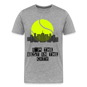 I'm Tennis City T-shirt - Men's Premium T-Shirt