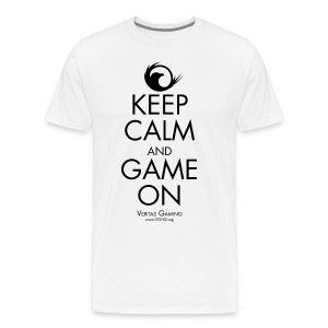 VG Keep Calm - Men's Premium T-Shirt