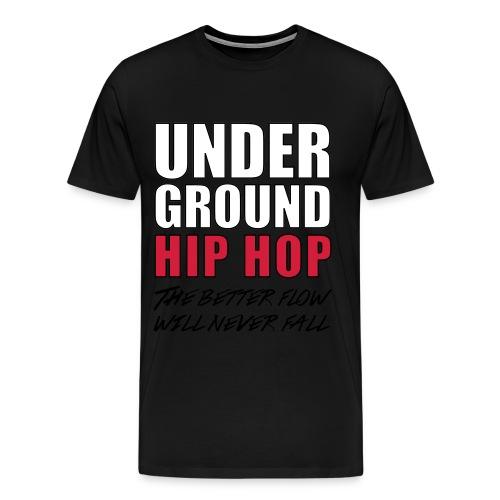 t shirt under ground hip hop  - T-shirt Premium Homme