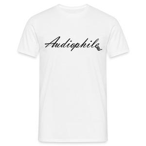 Audiophile - Men's T-Shirt